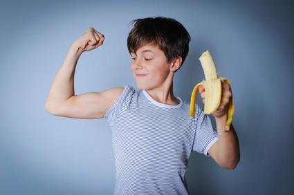 Bizeps Muskeln Banane Magnesiummangel gefährlich Magnesium gut für Muskeln und Nerven