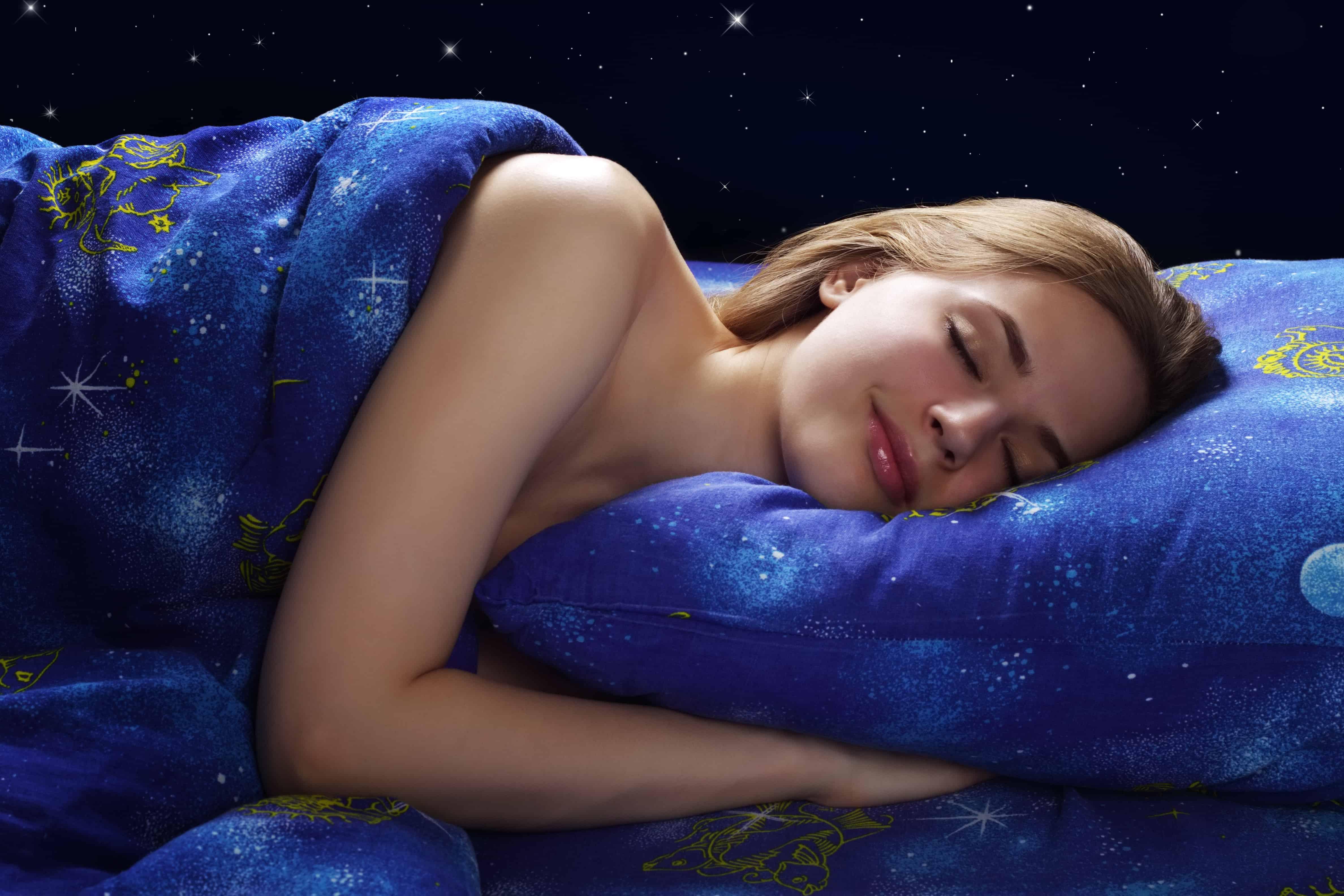 Schlaf erholsam Magnesium hilft schlafen Einschlafen Nachts