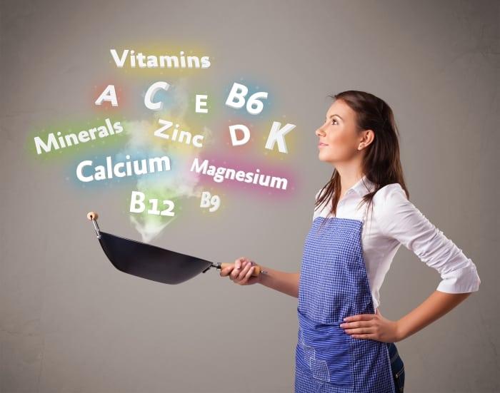 Vitamine Mineralien Magnesium Calcium Zink Phosphor A D3 K2
